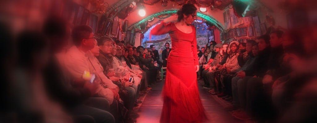 Flamenco en las Cuevas de Sacromonte de Granada