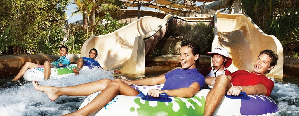 Yas Water World Premium Tickets with Shared Transfer