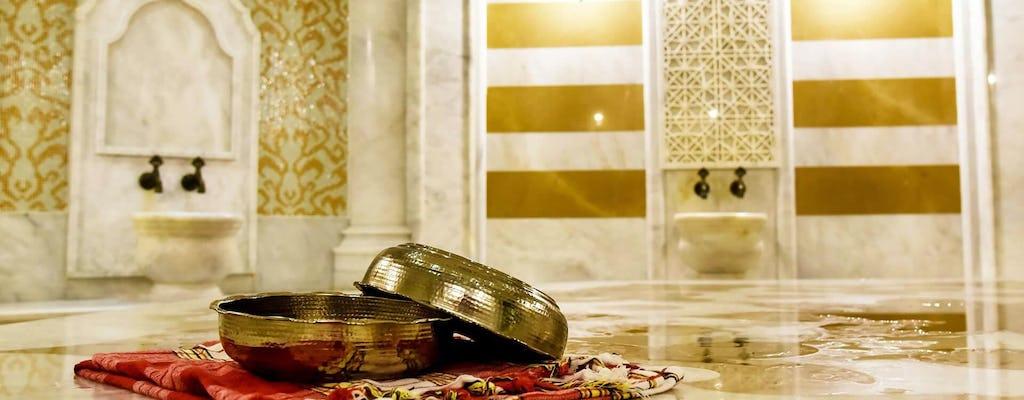 Experiência de banho turco (Hammam)
