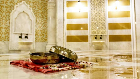 Turkish bath experience (Hammam)