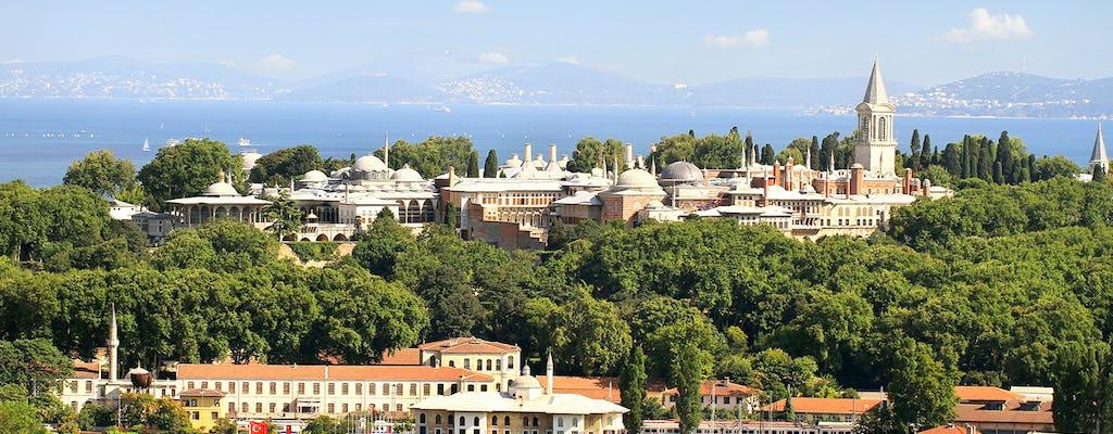 Billets prioritaires pour le palais de Topkapi avec visite de présentation et audioguide
