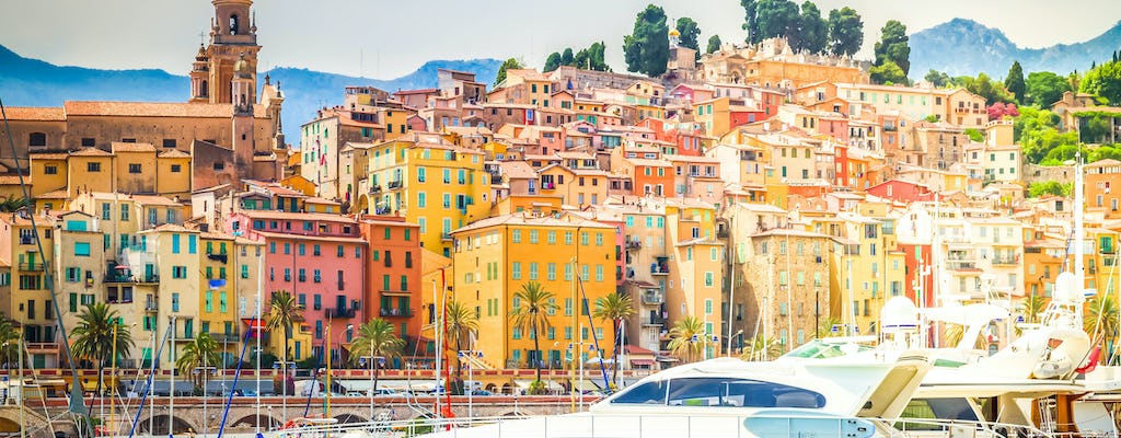 Discovery tour of Italian Markets, Menton and la Turbie from Nice