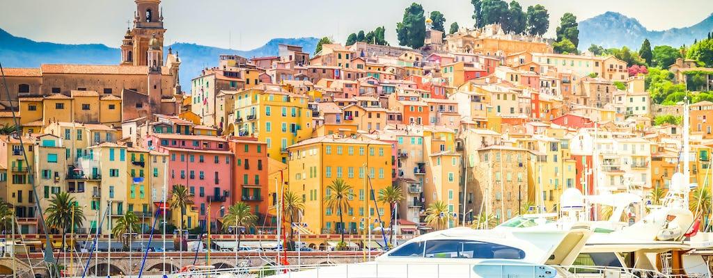 Tour de descoberta dos mercados italianos, Menton e la Turbie de Nice