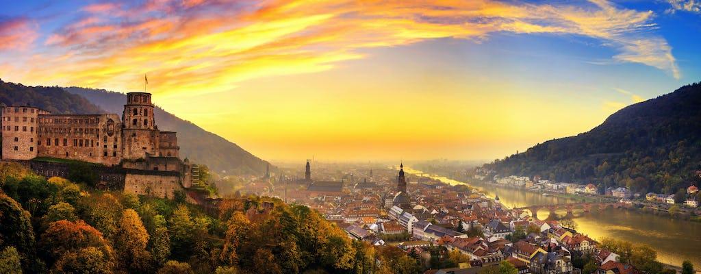 Bus turístico de la ciudad de Frankfurt de una hora y viaje de un día completo a Heidelberg