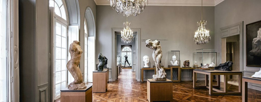 Guided tour of Rodin Museum