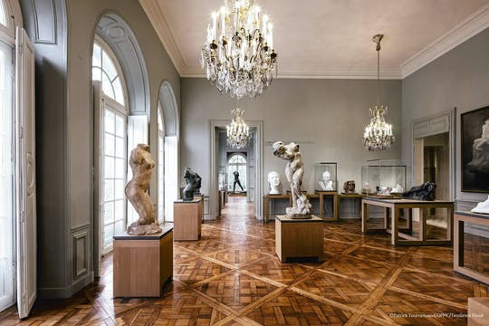 Visita guiada ao Museu Rodin