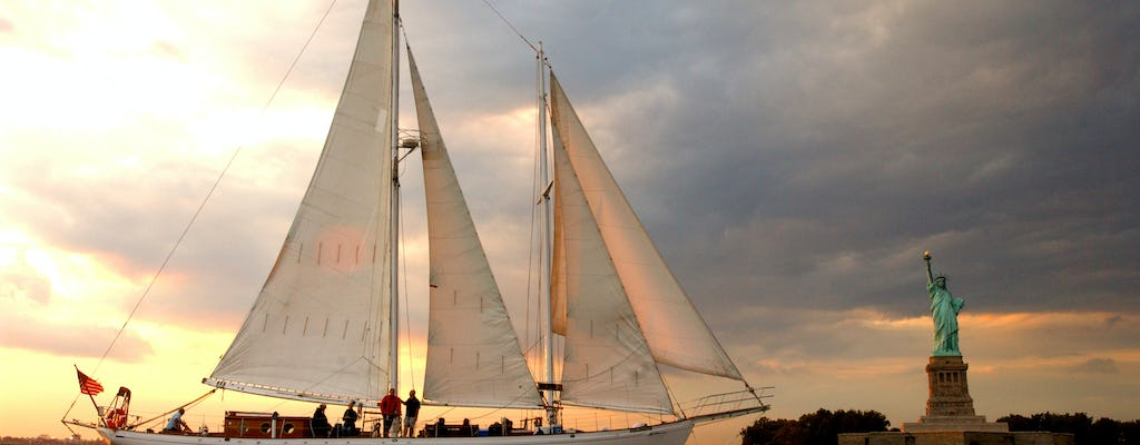 Sunset sail aboard the Shearwater