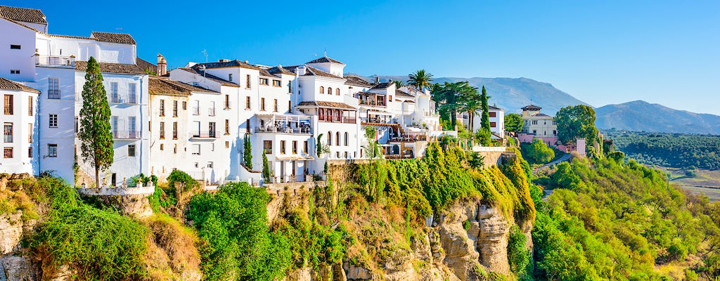 Guided tour to Ronda with a visit to a bodega from Benalmádena, Torremolinos or Nerja