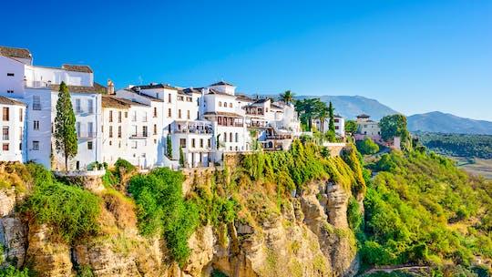 Visite guidée à Ronda avec visite d'une bodega de Benalmádena, Torremolinos ou Nerja