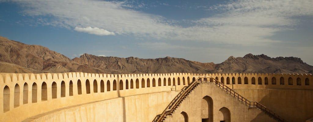 Excursão privada de dia inteiro a Nizwa, incluindo fortes Bahla e Jabrin