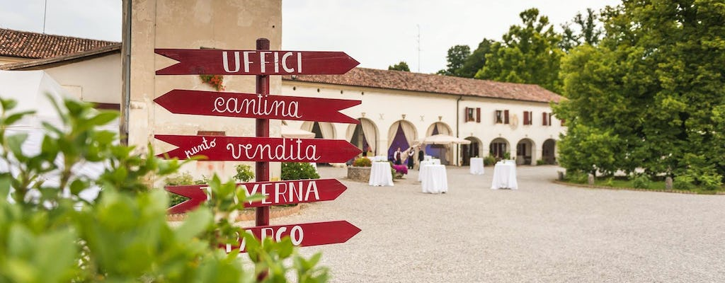 Visit to Borgo Rechsteiner with wine tasting