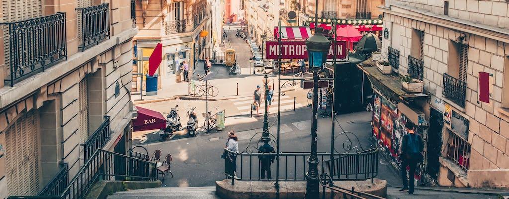 Visita guiada à cidade histórica de Paris, Montmartre e Louvre