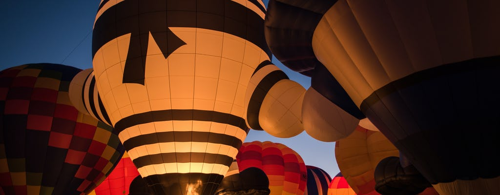 Vôo de balão de ar quente exclusivo sobre o Amsterdam Lake District