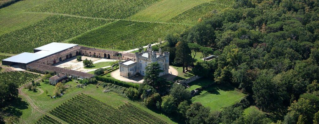 Ruta de descubrimiento a través del viñedo Camarsac cerca de Burdeos