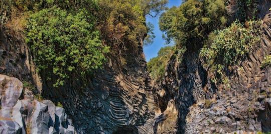 Tour durch die Ätna- und Alcantara-Schluchten