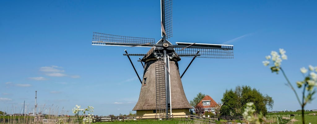 Water, windmills and local experiences tour from Amsterdam with boat ride and lunch