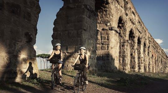 Excursão de bicicleta elétrica pela Antiga Via Ápia e Parque dos Aquedutos