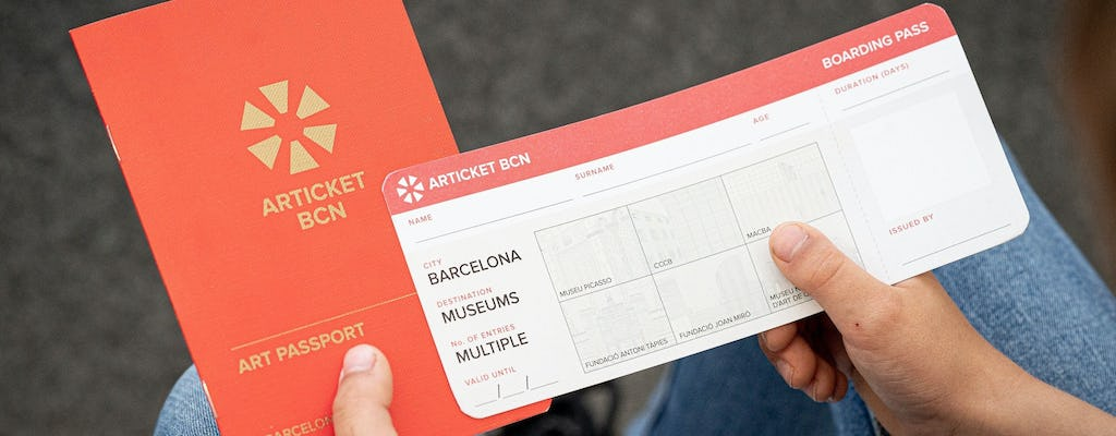 Pass per il museo skip-the-line di Articket Barcelona