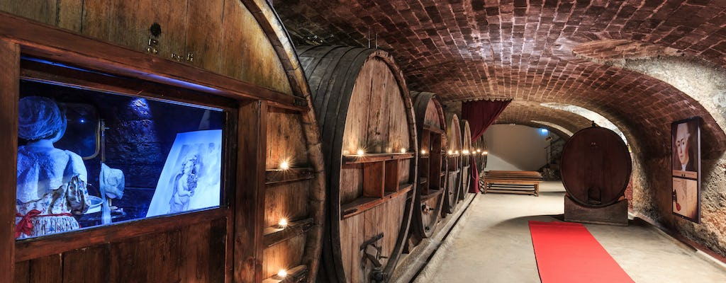 Wine tour and wine tasting at Saint Martin Castle