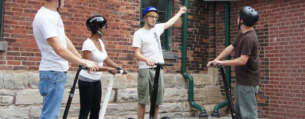 Distillery District segway spin tour