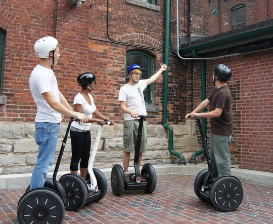 Tour di spin del distretto di Distillery District