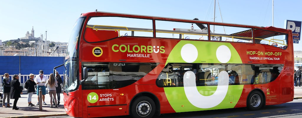 Colorbus Marsella Hop-on hop-off bus tour