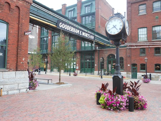 Klassische Tour durch das Distillery District
