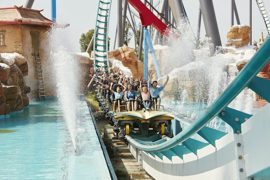 3-day ticket to Port Aventura Park, Ferrari Land and Port Aventura Caribe Aquatic Park