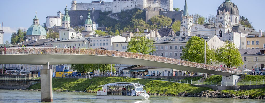 40-minute boat tour in Salzburg