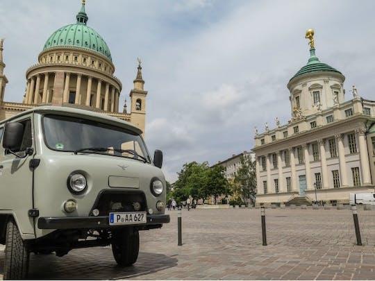 Potsdam city tour in Soviet minibus
