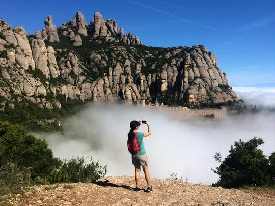 Montserrat Natural Park: piesza wędrówka i zwiedzanie klasztoru