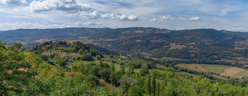 Trekking e degustazione di prodotti locali nella campagna di Todi