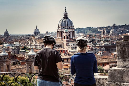 Bike tour of Rome in one day by electric-assist bicycle