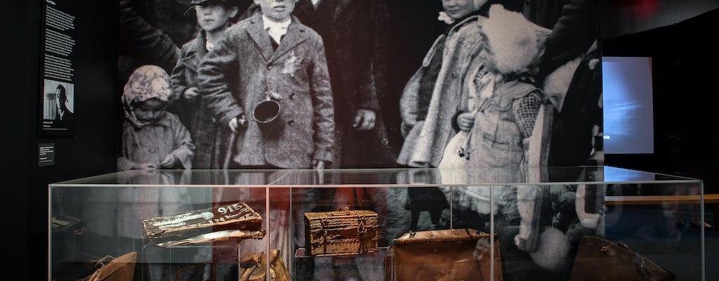 Museo del patrimonio ebraico: biglietto flessibile per la mostra su Auschwitz