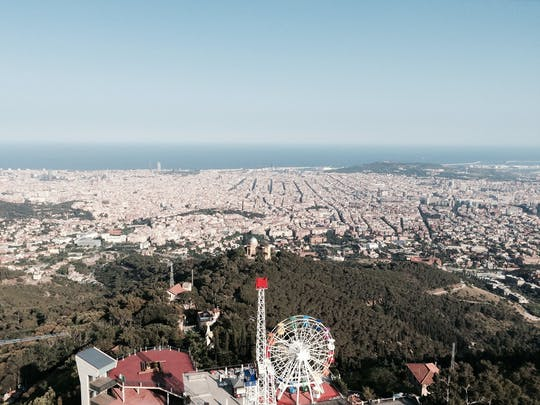 Barcelona viewpoints and Tibidabo Natural Park hike