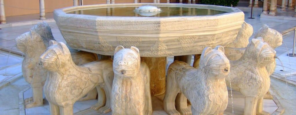 Visita guiada a la Alhambra en grupos reducidos y entradas sin colas