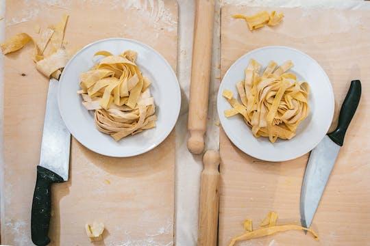Atelier de pâtes et tiramisu à Rome