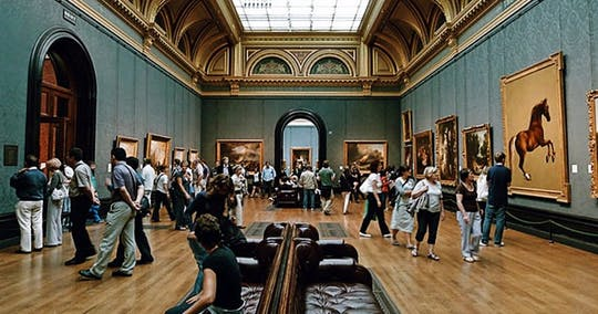 Visita guiada da National Gallery of London