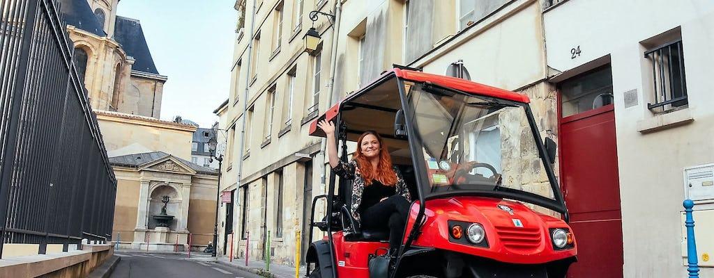 Visita guidata del quartiere Le Marais e del Quartiere Latino in Golfcart