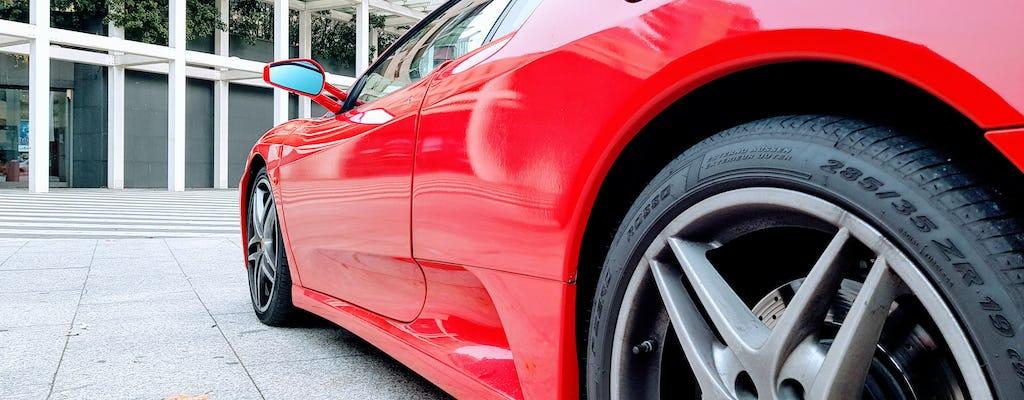 Ferrari driving experience in Milan
