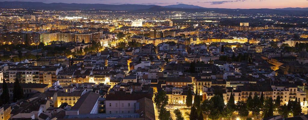 Tour nocturno de aventura en Granada