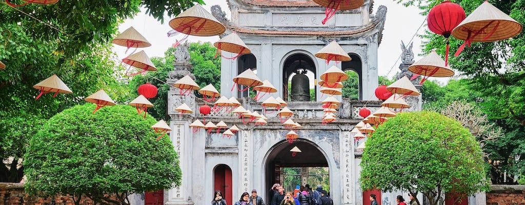 Half-day city tour in Hanoi