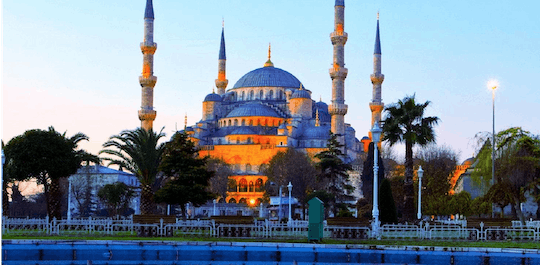 Istanbul gold combo day tour with Hagia Sophia, Blue Mosque and private boat cruise