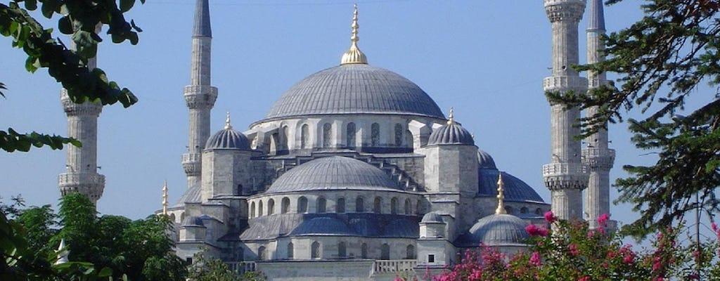 Excursion combinée Argent d'une journée à Istanbul avec Sainte-Sophie, la Mosquée bleue et le palais de Dolmabahçe
