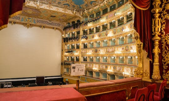 Tickets for La Fenice Theatre with audio guide