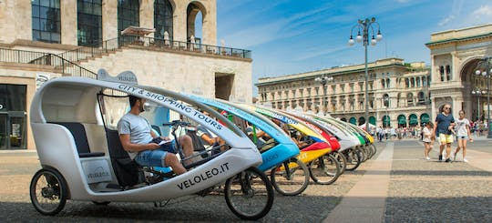 Sightseeing tours by rickshaw in Milan