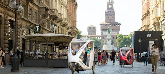 Leonardo da Vinci tour by rickshaw in Milan
