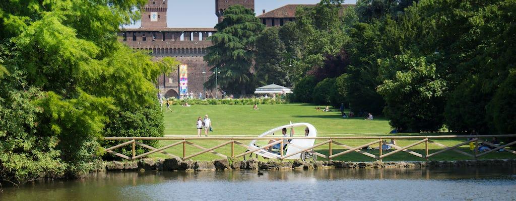 Nowoczesna wycieczka po Mediolanie rikszą