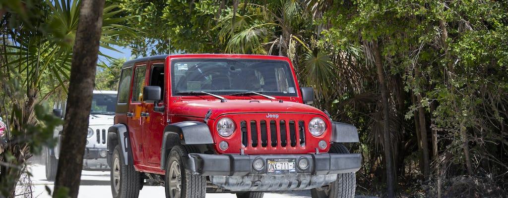 Safari en 4x4 à Cozumel