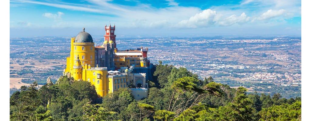 Tour privado de Sintra e Cascais saindo de Lisboa